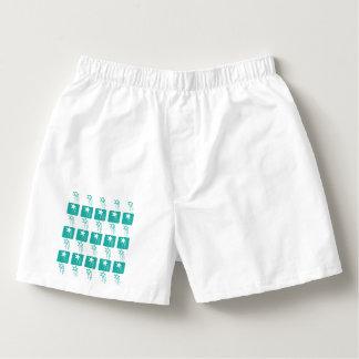 Turq 'Shooting Star' print Boxers for Men