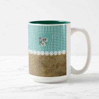 TurqoiseOnTurquoise - café, taza del té, taza