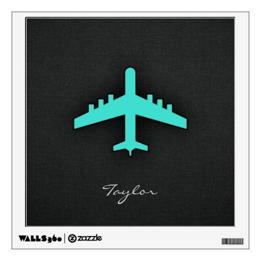 Turquesa; Aeroplano del verde azul