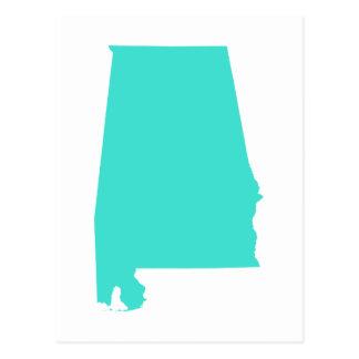 Turquesa Alabama Postales
