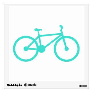 Turquesa; Bicicleta del verde azul