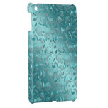 Turquesa brillante de Paisley iPad Mini Protectores