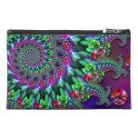 Turquesa de la púrpura del fractal de Bokeh