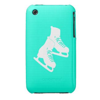 turquesa de los patines de hielo del iPhone 3 Case-Mate iPhone 3 Funda