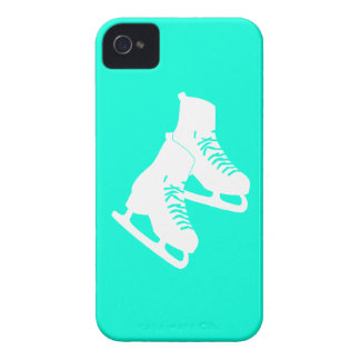 turquesa de los patines de hielo del iPhone 4 Case-Mate iPhone 4 Funda
