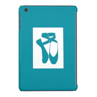 Turquesa de Pointe del equipo de HI54DANCE Funda Para iPad Mini Retina
