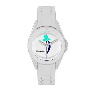Turquesa de PRLimages y reloj del iris de la marin