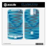 turquesa elegante HTC myTouch 3G slide skin