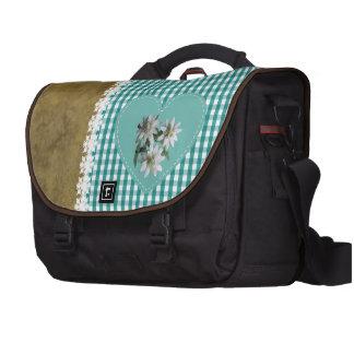 Turquesa en la turquesa - bolso del viajero del ca bolsas para ordenador