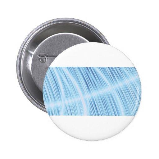 Turquesa fresca del diseño de la pluma de la falta pin