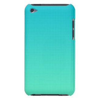 Turquesa Ombre Barely There iPod Coberturas