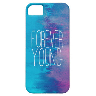 Turquesa para siempre joven Ombre Funda Para iPhone 5 Barely There
