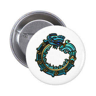 Turquesa Quetzalcoatl Pins