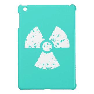Turquesa, símbolo radiactivo azulverde