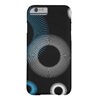 Turquesa Starburst Funda Para iPhone 6 Barely There