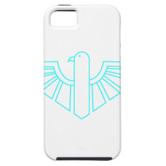 Turquesa Thunderbird iPhone 5 Funda