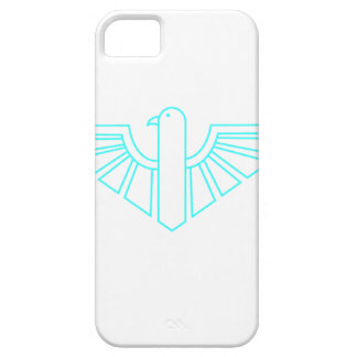 Turquesa Thunderbird iPhone 5 Carcasas