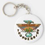 Turquesa Thunderbird Llaveros Personalizados