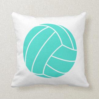 Turquesa; Voleibol del verde azul Cojines