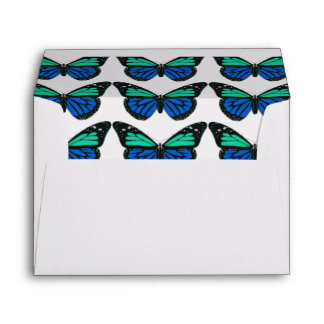 Turquesa y mariposa bonitas de la aguamarina
