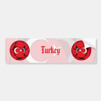 Turquía #1 pegatina para auto