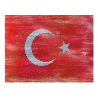 Turquía apenó la bandera turca tarjetas postales