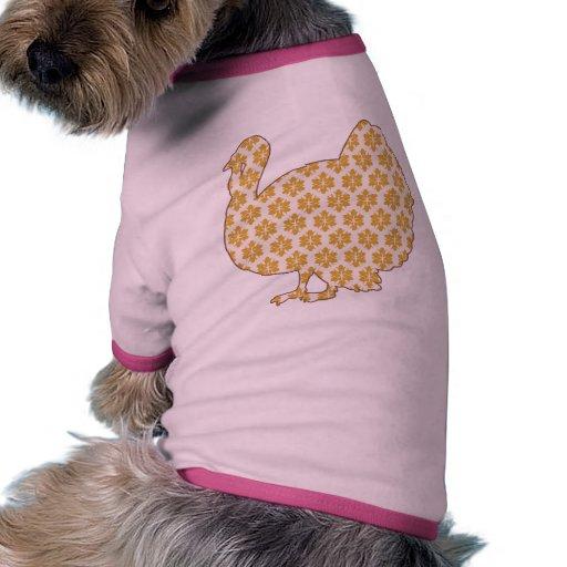Turquía Camiseta Con Mangas Para Perro
