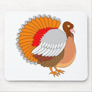 Turquía colorida alfombrilla de ratón