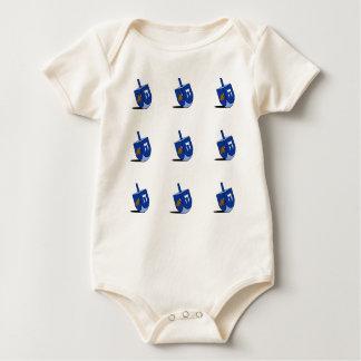 Turquía Dreidel - bebé Body Para Bebé