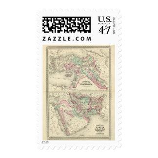 Turquía en Asia, Persia, Arabia, Beloochistan Sello Postal