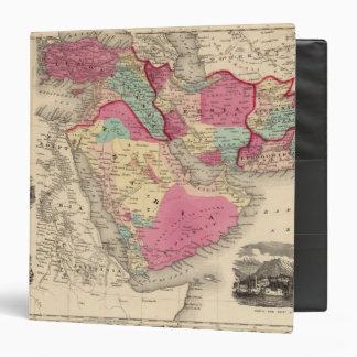"Turquía en Asia Persia Arabiaandc Carpeta 1 1/2"""