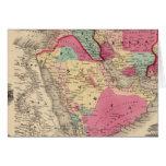 Turquía en Asia Persia Arabiaandc Tarjeton