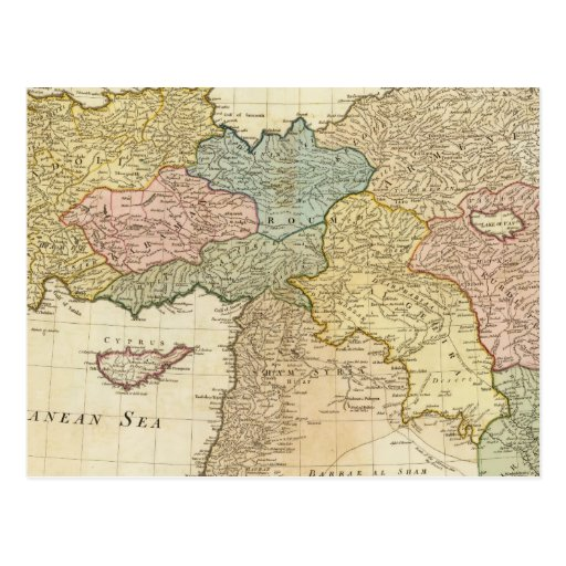 Turquía en Asia Postales
