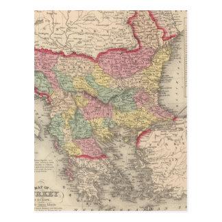 Turquía en Europa 8 Postal