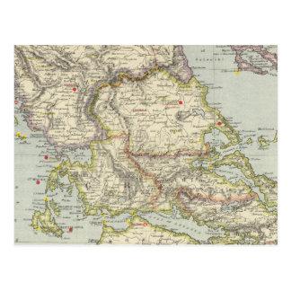 Turquía en Europa, Grecia del norte Postales