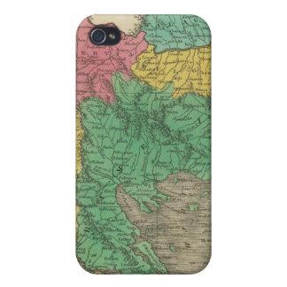 Turquía en Europa iPhone 4/4S Funda