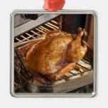 Turquía en horno ornaments para arbol de navidad