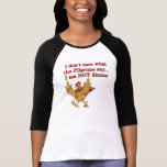 Turquía enojada camisetas