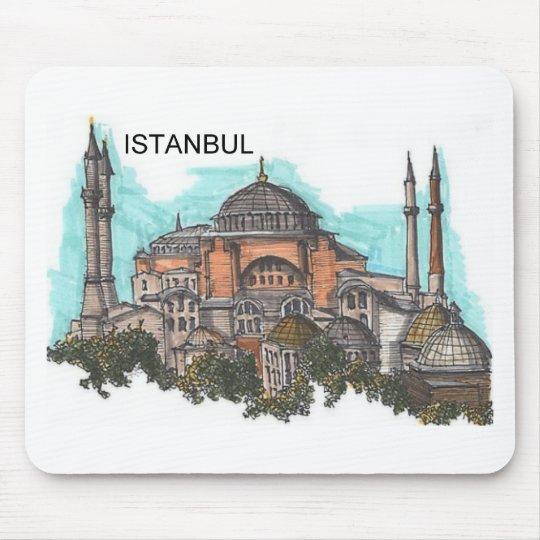 Turquía Estambul Hagia Sophia (por St.K) Mouse Pads