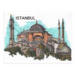 Turquía Estambul Hagia Sophia (por St.K) Postal
