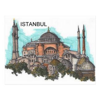 Turquía Estambul Hagia Sophia (por St.K) Postales