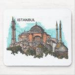 Turquía Estambul Hagia Sophia (por St.K) Alfombrilla De Raton