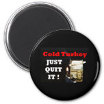 Turquía fría iman de frigorífico