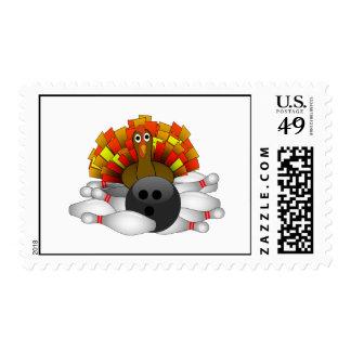 Turquía - huelga de los bolos timbre postal