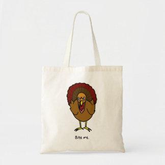 Turquía me muerde tote bolsas de mano