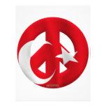 Turquía Membrete A Diseño
