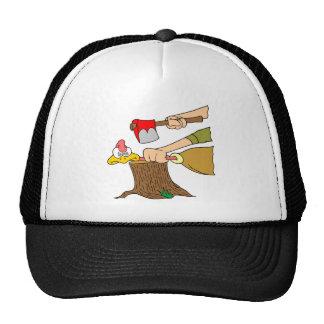Turquía muerta gorras de camionero