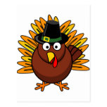 Turquía para el Día de Acción de Gracias Postal