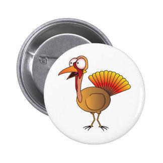 Turquía Pin Redondo 5 Cm