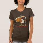 Turquía que toma al rehén de la cena de la acción  camisetas